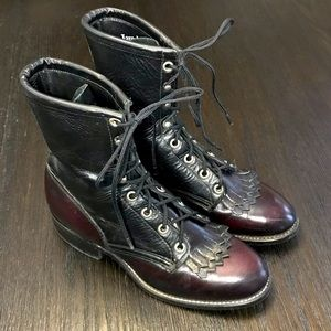Laredo Roper Kiltie Boots